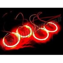 BMW E46 98-02 4 Kapı CCFL Floresan Angel Halka Kırmızı