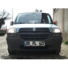 Fiat Doblo 01-06 Ön Koruma Sisli