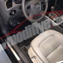 Audi A4 2007-2011 Havuzlu Paspas