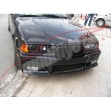 BMW E36 Plastik Siyah Spor Ön Panjur (Böbrek)