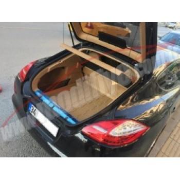 Porsche Panamera 2010 ve Sonrasıyla Uyumlu Bagaj Havuzu